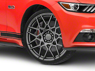 2013 GT500 Style Hyper Dark Wheel - 20x8.5 (15-18 All)