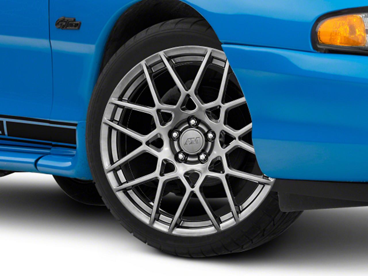 2013 GT500 Style Hyper Dark Wheel - 20x8.5 (94-04 All)