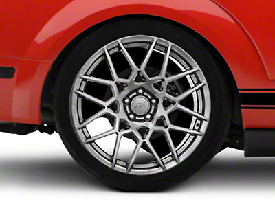 2013 GT500 Style Hyper Dark Wheel - 20x10 (05-14 All)