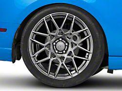 2013 GT500 Style Hyper Dark Wheel; Rear Only; 20x10 (10-14 All)
