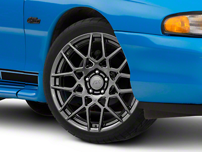 2013 GT500 Style Hyper Dark Wheel - 19x8.5 (94-04 All)