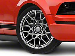 2013 GT500 Style Hyper Dark Wheel; 19x8.5 (05-09 All)