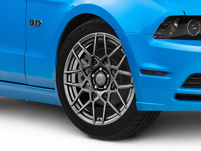 2013 GT500 Style Hyper Dark Wheel; 19x8.5 (10-14 All)