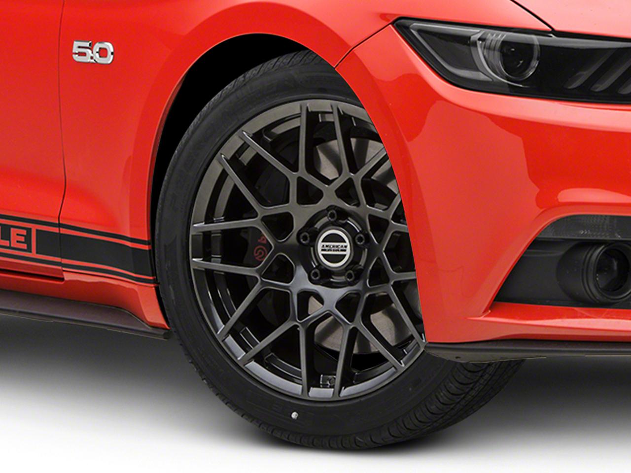 2013 GT500 Style Hyperdark Wheel - 19x9.5 (15-18 GT, EcoBoost, V6)