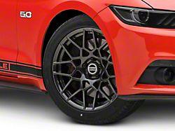 2013 GT500 Style Hyper Dark Wheel; 19x9.5 (15-20 GT, EcoBoost, V6)