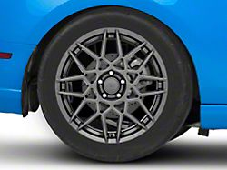 2013 GT500 Style Hyper Dark Wheel; Rear Only; 19x10 (10-14 All)