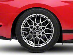 2013 GT500 Style Hyper Dark Wheel; Rear Only; 19x10 (15-20 GT, EcoBoost, V6)