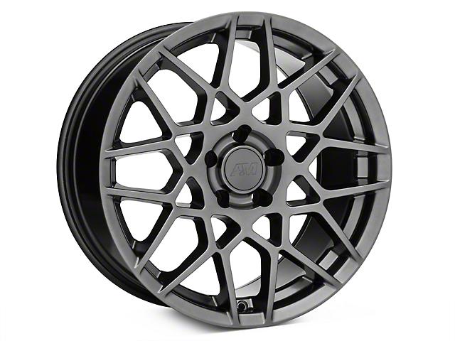 2013 GT500 Style Hyper Dark Wheel - 18x9 (15-18 EcoBoost, V6)