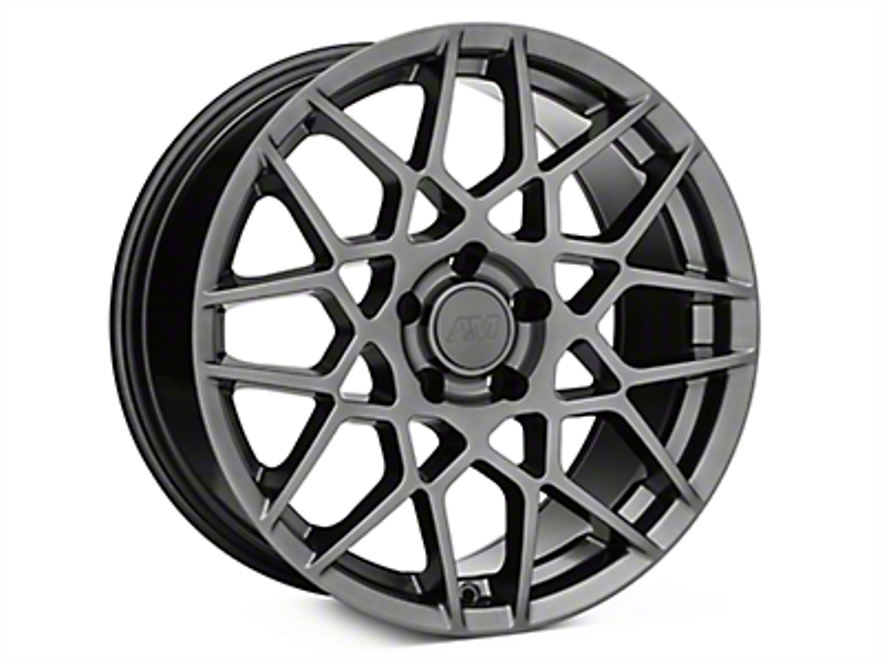 2013 GT500 Style Hyper Dark Wheel - 18x9 (15-19 EcoBoost, V6)