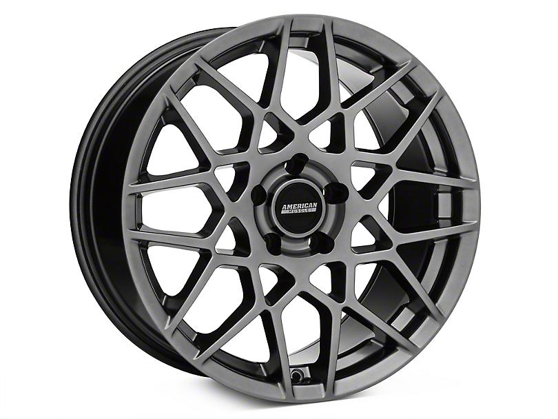 2013 GT500 Style Hyper Dark Wheel - 18x9 (94-04 All)