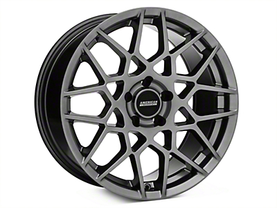 2013 GT500 Style Hyper Dark Wheel - 18x9 (94-04 All)