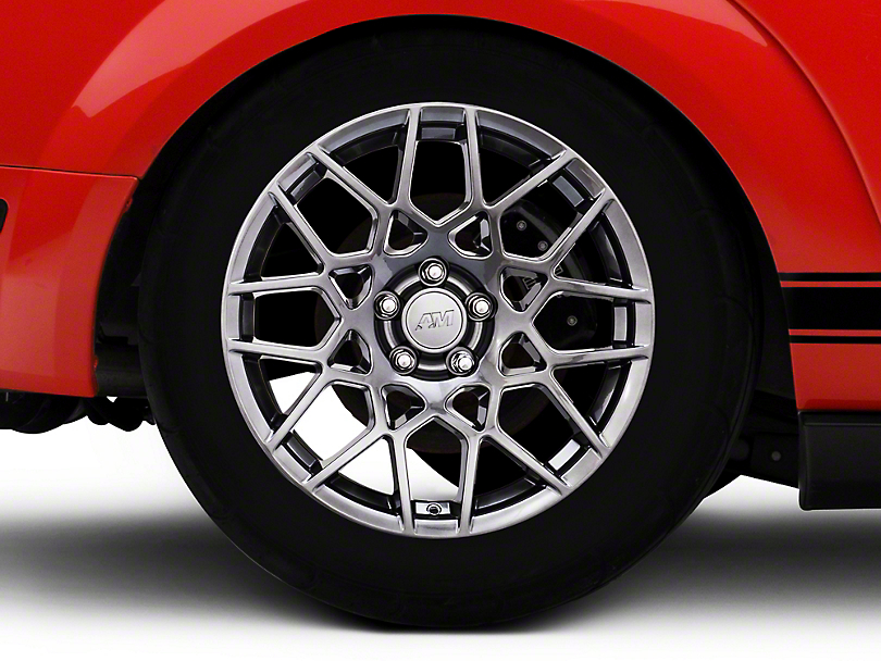 2013 GT500 Style Hyper Dark Wheel - 18x10 - Rear Only (05-14 All)