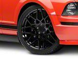 2013 GT500 Style Gloss Black Wheel; 20x8.5 (05-09 All)