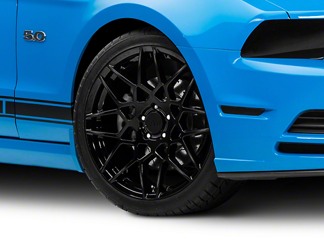2013 GT500 Style Gloss Black Wheel; 20x8.5 (10-14 All)