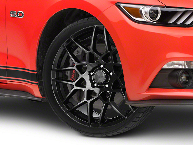 2013 GT500 Style Gloss Black Wheel - 20x8.5 (15-19 GT, EcoBoost, V6)