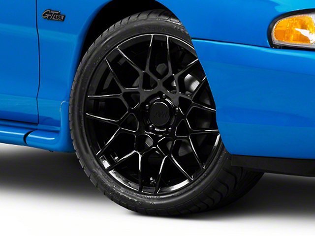 2013 GT500 Style Gloss Black Wheel; 18x9 (94-98 All)