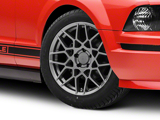 2013 GT500 Style Charcoal Wheel - 18x9 (05-14 GT, V6)