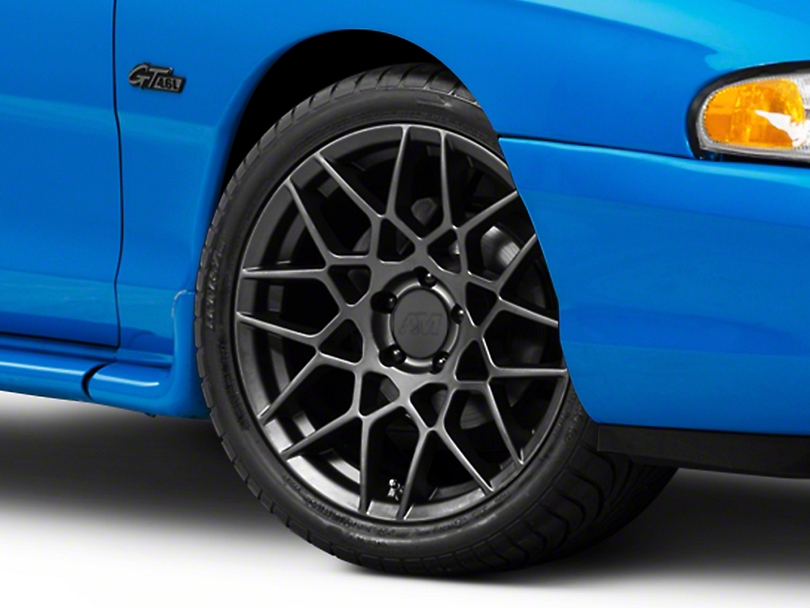 2013 GT500 Style Charcoal Wheel - 18x9 (94-04 All)