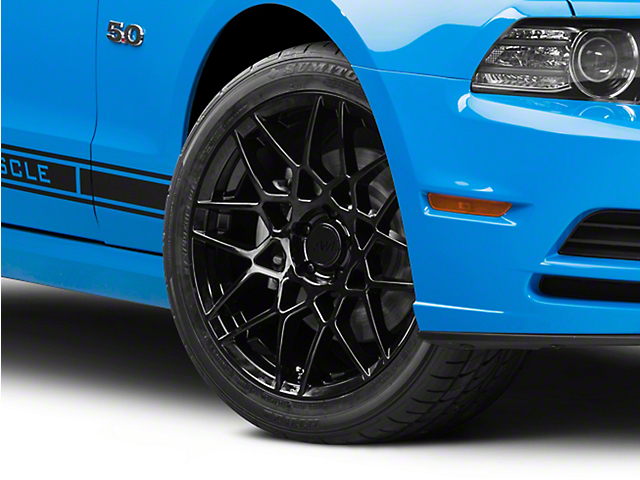 2013 GT500 Style Gloss Black Wheel; 19x9.5 (10-14 All)