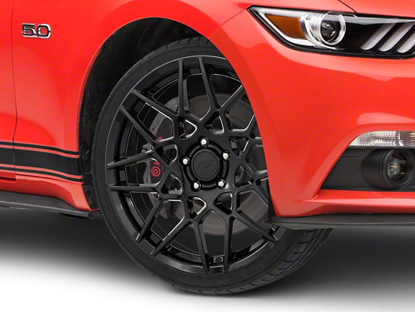 2013 GT500 Style Gloss Black Wheel - 19x8.5 (15-19 GT, EcoBoost, V6)