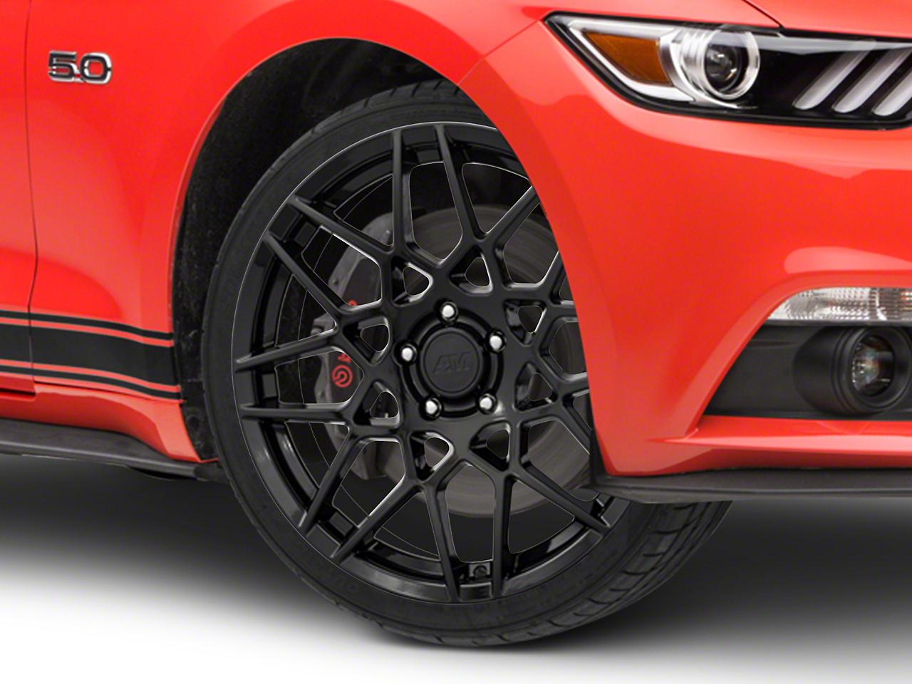 2013 GT500 Style Gloss Black Wheel - 19x8.5 (15-17 V6, EcoBoost)