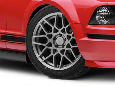 Add 2013 GT500 Style Charcoal Wheel - 19x8.5