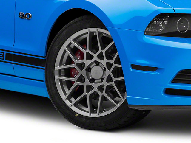 2013 GT500 Style Charcoal Wheel; 19x9.5 (10-14 All)