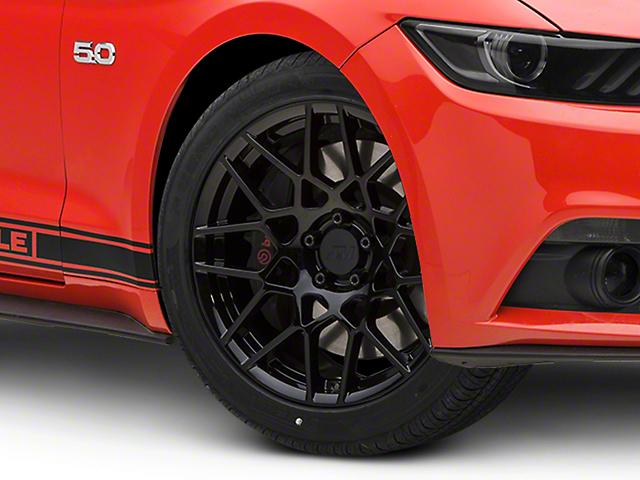 2013 GT500 Style Gloss Black Wheel - 19x9.5 (15-18 GT, EcoBoost, V6)