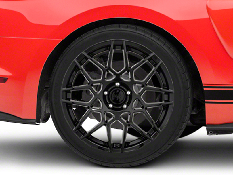 2013 GT500 Style Gloss Black Wheel - 19x10 - Rear Only (15-19 GT, EcoBoost, V6)
