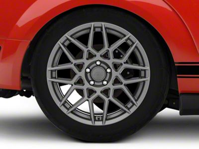 Add 2013 GT500 Style Charcoal Wheel - 19x10