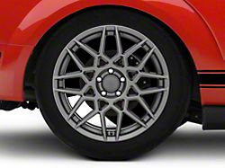 2013 GT500 Style Charcoal Wheel; Rear Only; 19x10 (05-09 All)