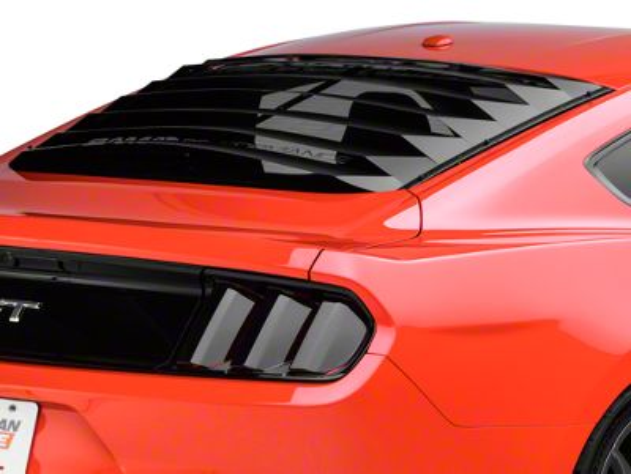 SpeedForm Aluminum Rear Window Louvers (15-19 Fastback)