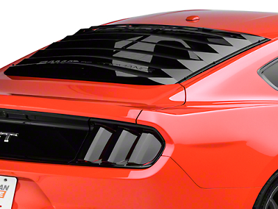 Rear Window Louver Scoop Cover Fits for Ford Mustang 2015 2016 2017 2018 2019