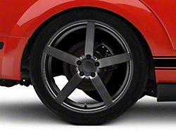 Rovos Durban Satin Gunmetal Wheel; Rear Only; 20x10 (05-09 All)