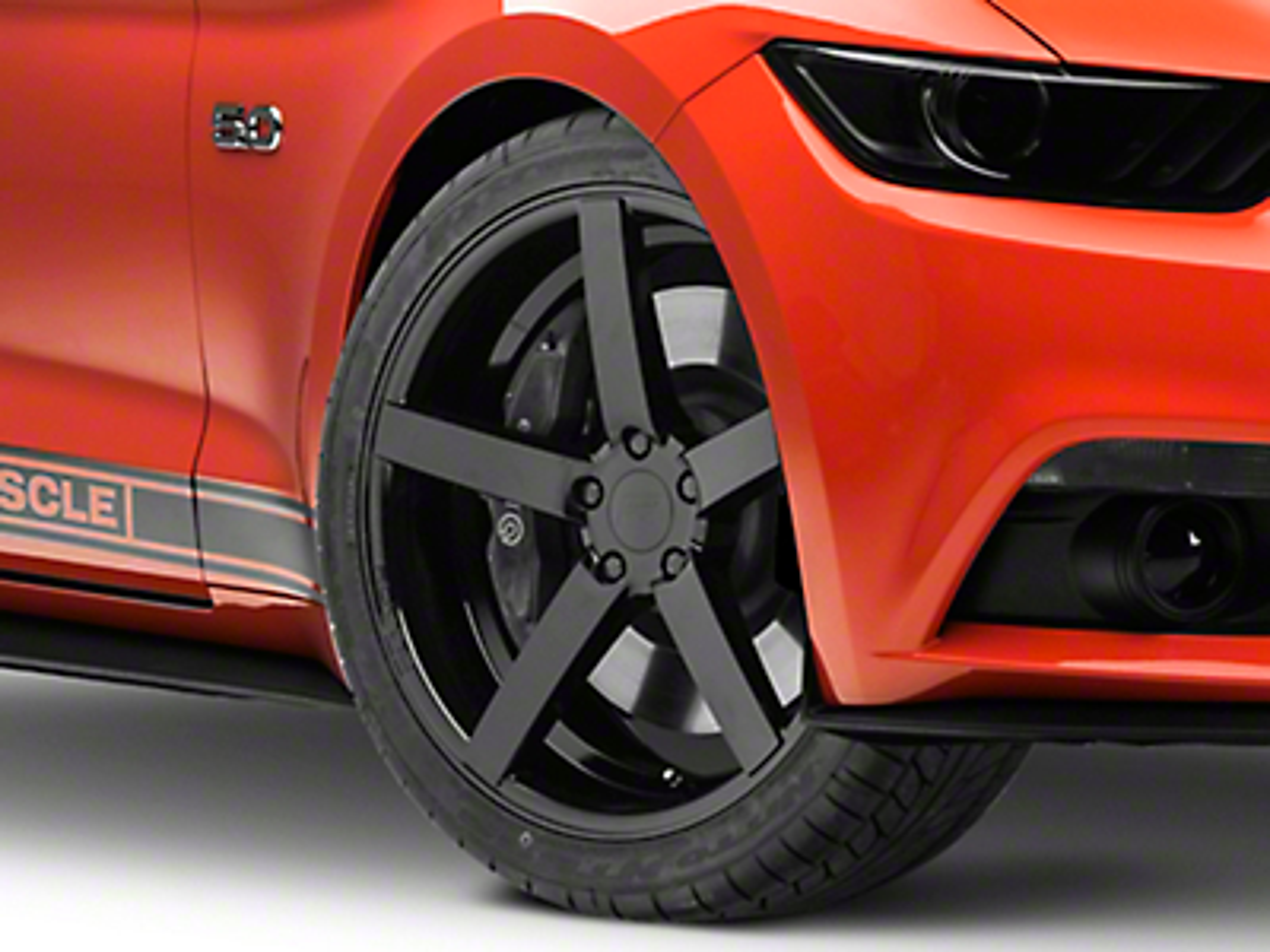 Rovos Durban Gloss Black Wheel - 20x8.5 (15-18 GT, EcoBoost, V6)
