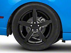 Rovos Durban Gloss Black Wheel; Rear Only; 20x10 (10-14 All)