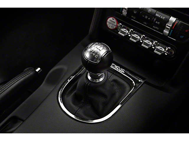 Alterum Premium Black Leather Shift Boot - Black Stitching (15-17 All)