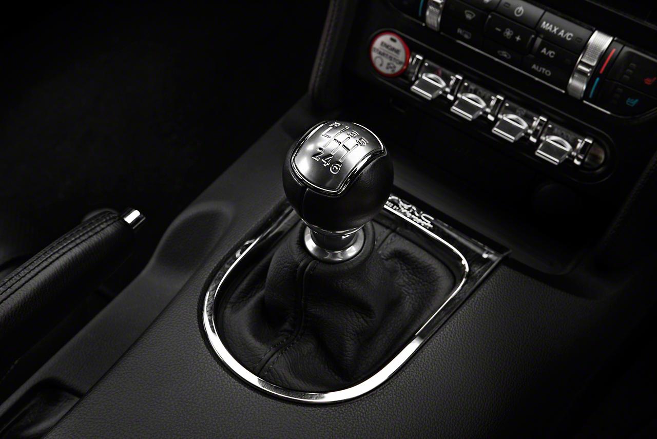 Alterum Premium Black Leather Shift Boot - Black Stitching (15-18 All)