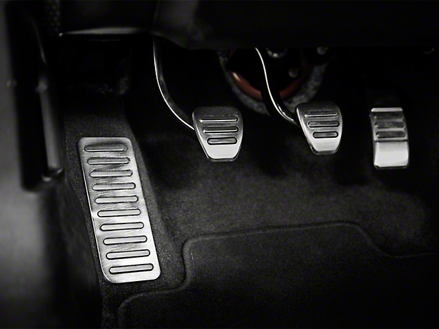 Dead Pedal Cover - Polished (15-19 All)
