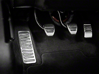 Dead Pedal Cover - Polished (15-17 All)