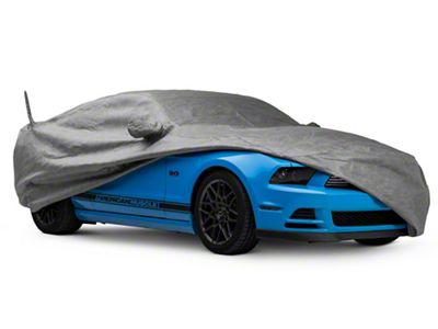 Black FS12226F5 Fleeced Satin Covercraft Custom Fit Car Cover for Select Ford Mustang Models