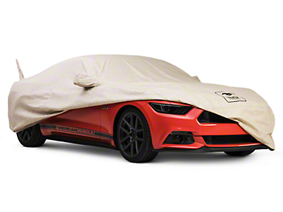 Covercraft Deluxe Custom-Fit Car Cover - 50th Anniversary Logo (15-18 Convertible)