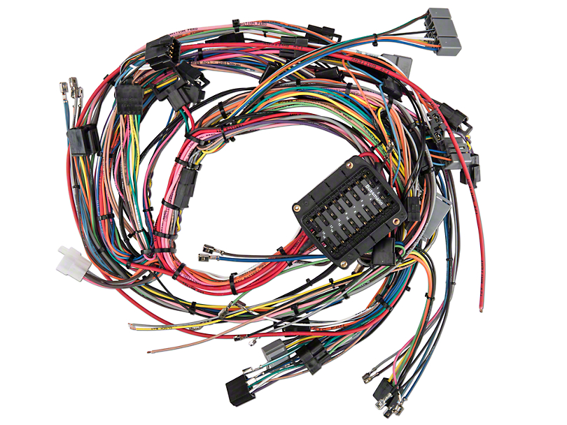 389536?$enlarged810x608$ opr mustang front light wiring harness 525015 (91 93 all) free Wiring Harness Diagram at bayanpartner.co