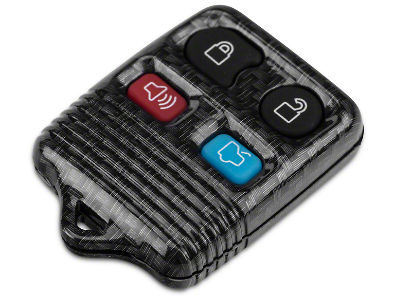 OPR Carbon Fiber Keyless Entry Remote Case w/ Key Pad (99-09 All)