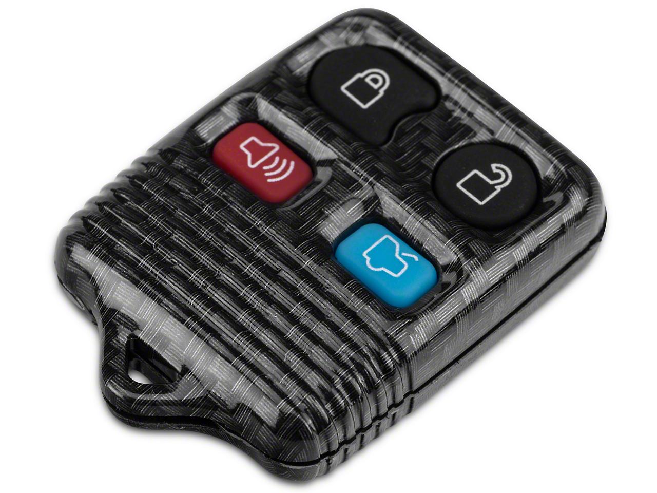 OPR Carbon Fiber Keyless Entry Remote Case w/ Key Pad (99-09 All)