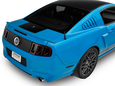 American Muscle Graphics Black Rear Decklid Accent (10-14 All)