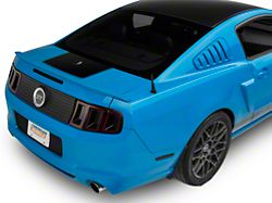 American Muscle Graphics Rear Decklid Accent Decal; Black (10-14 All)