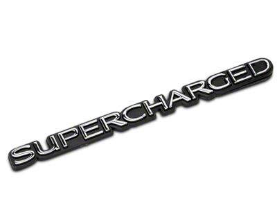 Add SpeedForm Supercharged Emblem