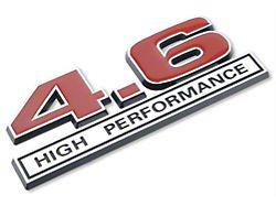 SpeedForm Red 4.6 High Performance Emblem