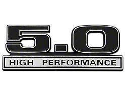 SpeedForm Black 5.0 High Performance Emblem